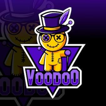 Voodoo mascot esport logo