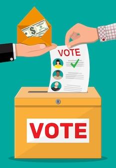 Соглашение избирателя и политика