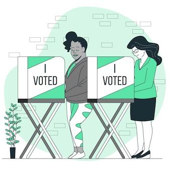 投票の概念図
