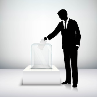 Voting election concept