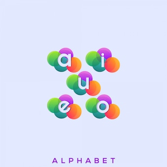 Логотип vowel premium