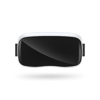 Стекла виртуальной реальности vr на белой предпосылке.