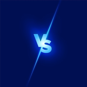 Vs design. battle concept. fight competition. versus concept.