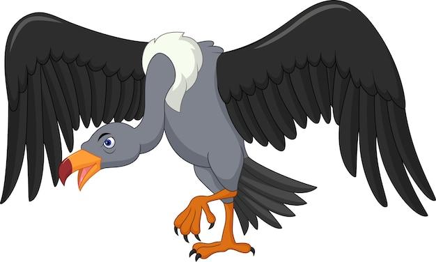 Мультфильм о птице Premium векторы
