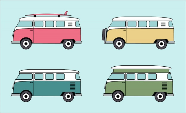Vw van collection