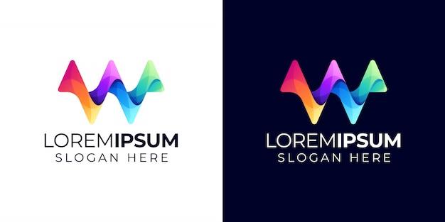 W логотип