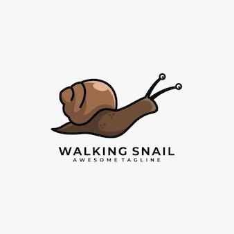 Walking snail   logo.