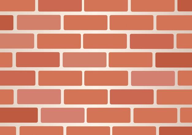 Wall of bricks background