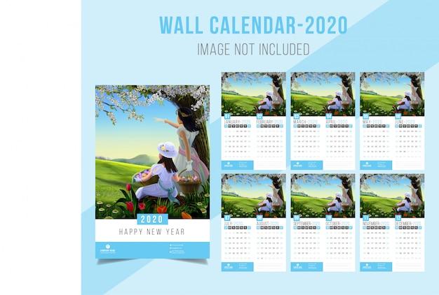 Wall calendar 2020