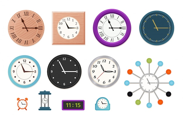Wall clock set  ,