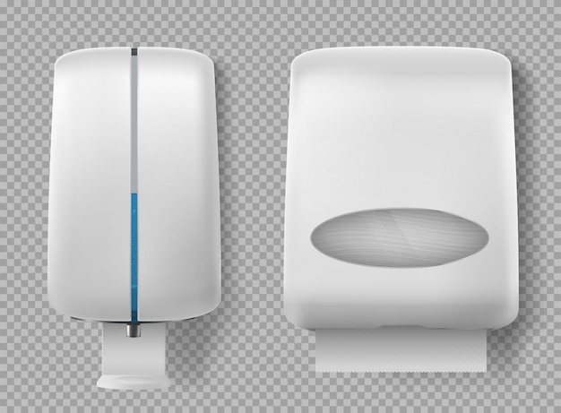 Wall dispenser for antibacterial soap, antiseptic