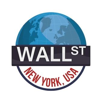 Wall street new york world investment