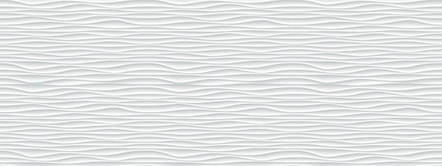 Стены текстуры волны узор, белая бумага Premium векторы