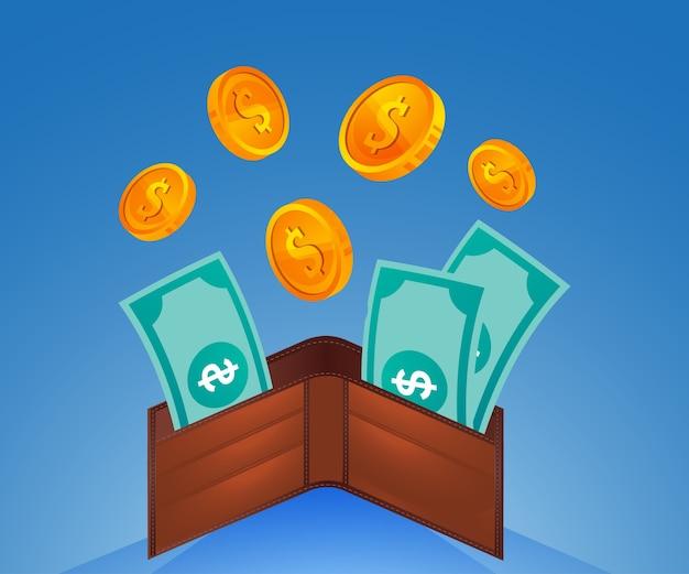 지갑과 돈