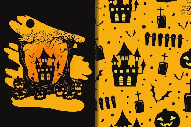 Обои и выкройки хэллоуин фестиваль мультфильм