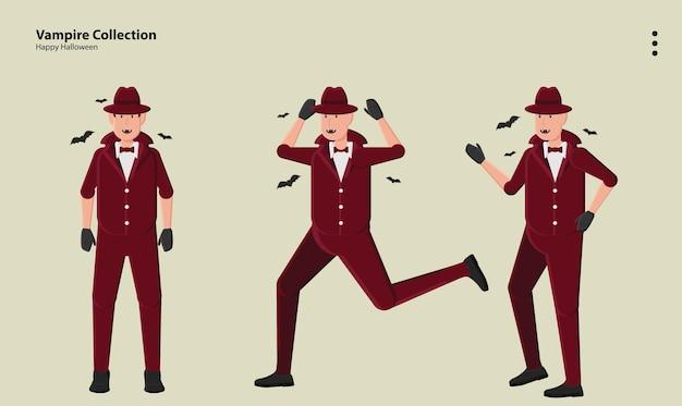 壁紙アートロゴハロウィンホラー怖いコスチューム10月カボチャ不気味なパーティー吸血鬼のキャラクター