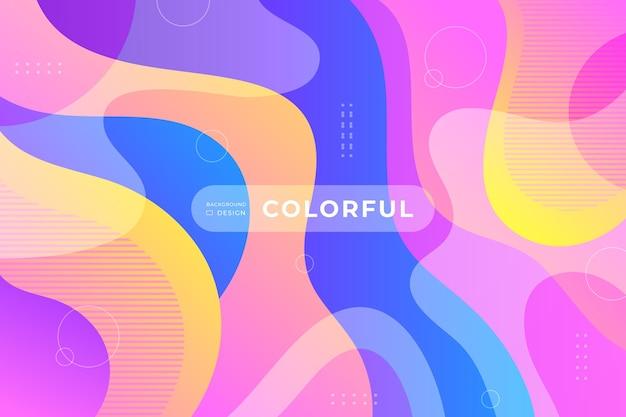 Wallpaper colorful theme