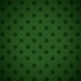 Wallpaper four leaf clover