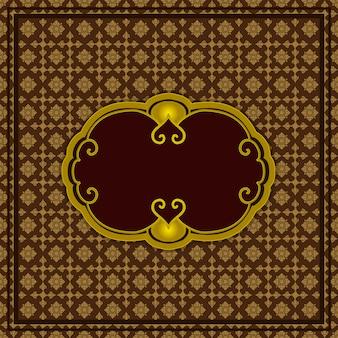 Wallpaper pattern thai style