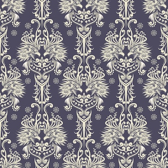 Wallpaper style eagle pattern with color white and grey