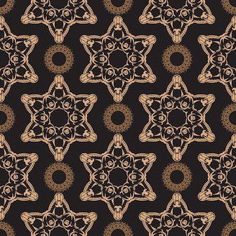 Wallpaper in a vintage style pattern. graphic ornament for wallpaper, fabric, packaging, wrapping.