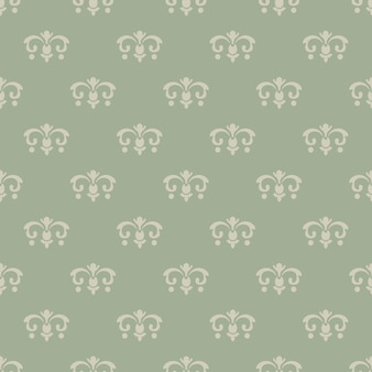 Wallpaper vintage style. pattern seamless, background design, decorative retro decor, vector illustration