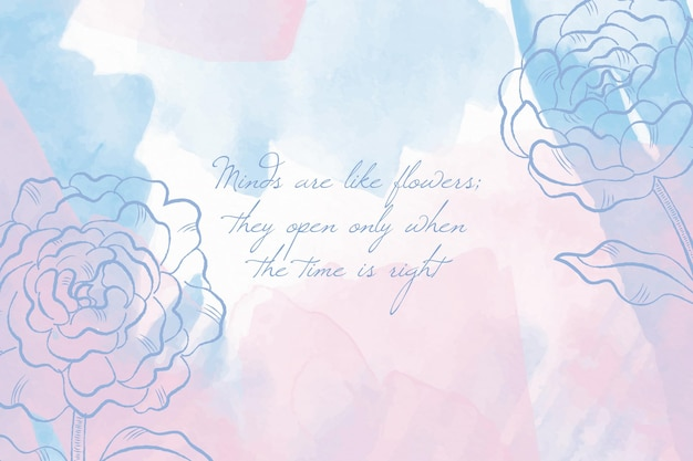 Wallpaper with powder pastel elements concept