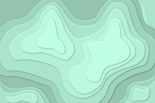 Wallpaper with topography