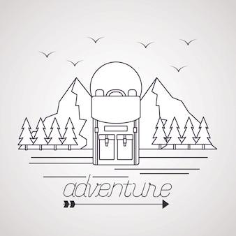 Wanderlust explore adventure landscape