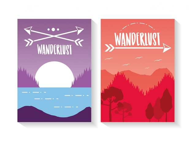Wanderlust landscape