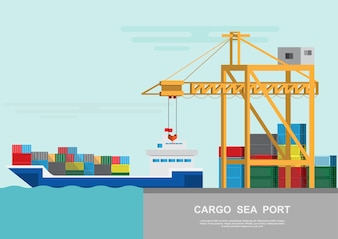 Warehouse and shipping port logistic