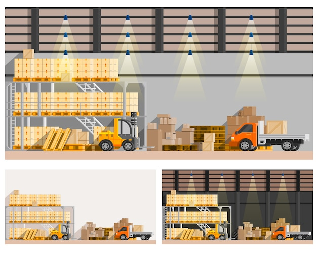 Warehouse compositions set