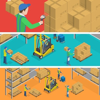 Warehouse and delivery.