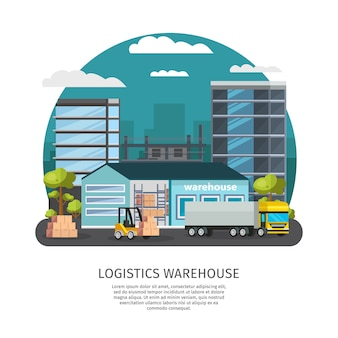 Warehouse logistics design