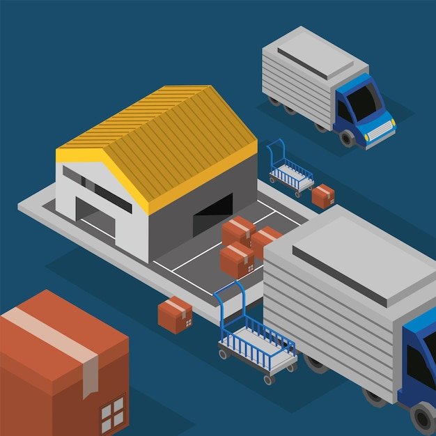Warehouse service industry