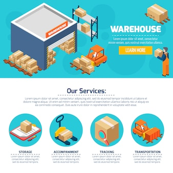 Warehouse web site