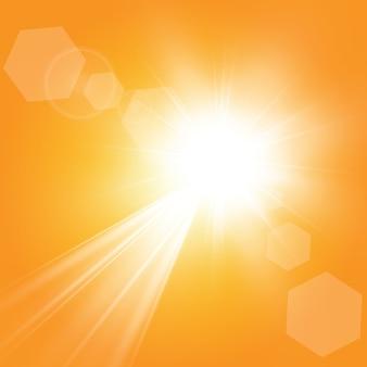Теплое солнышко. лето.блики солнечные лучи.