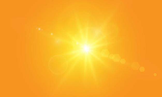 Теплое солнышко на желтом фоне летоблики солнечные лучирейндж желтый фон