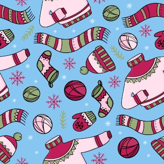 暖かい冬の服