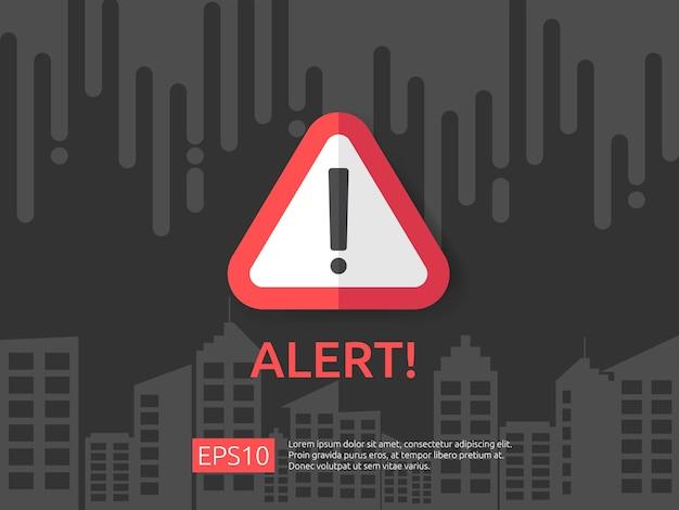 Warning alert