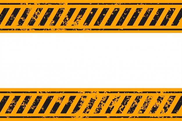 Warning style yellow and black stripes background