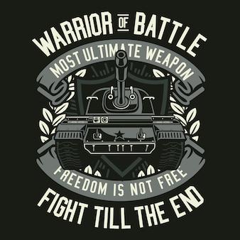 Warrior of battle