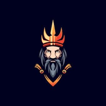 Warrior concept illustration