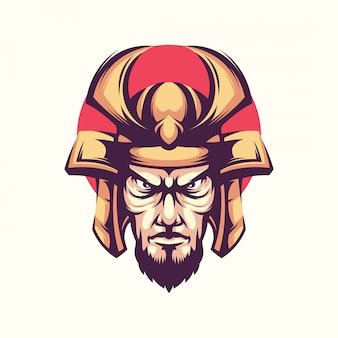 Warrior illustration vector