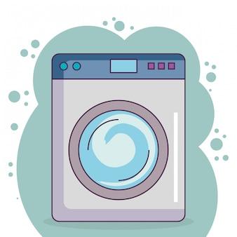 Wash machine laundry service