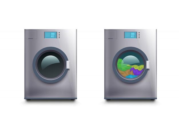 Wash maschine set