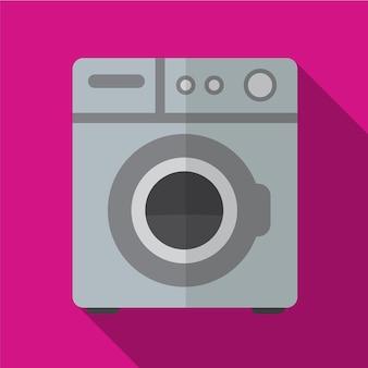 洗濯機フラットアイコンイラスト孤立ベクトル記号記号