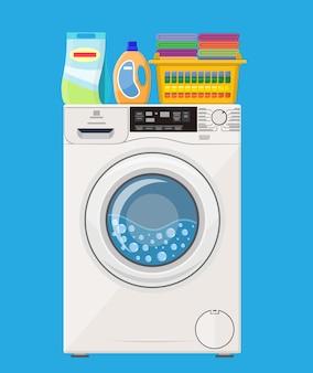 Значок стиральной машины