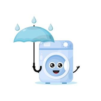 세탁기 비 우산