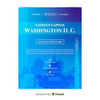 Washington flyer template